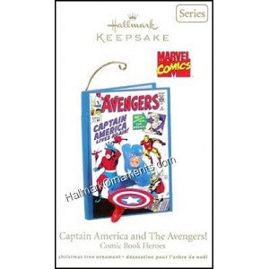2011 Captain America and The Avengers, Comic Book Heroes #4