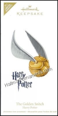2011 Golden Snitch, Harry Potter, LIMITED QUANTITY, VERY RARE - DB