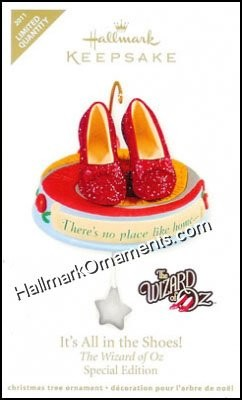 2011 It's All In The Shoes, The Wizard of Oz, LIMITED QUANTITY