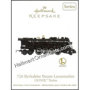 2011 Lionel Train #16 - 726 Berkshire Steam Locomotive
