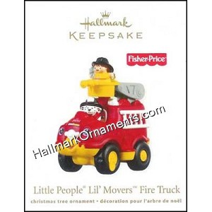 2011 Little People Lil Movers Fire Truck, Fisher-Price