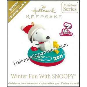2011 Winter Fun With Snoopy, Register to Win Colorway, Miniature