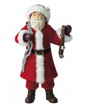 2011 Father Christmas 12 inch Table Top Display