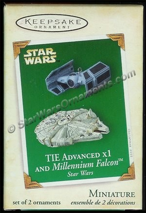 2005 TIE Advanced x1 and Millennium Falcon, Star Wars