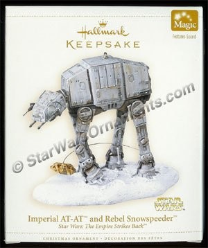 2006 Imperial AT-AT and Rebel Snowspeeder, Star Wars