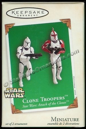 2003 Clone Troopers, Miniature Set of 2, Star Wars