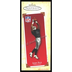 2003 Jerry Rice, Oakland Raiders, Football Legends