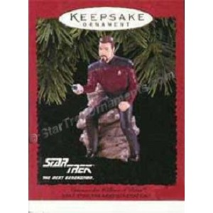 1996 Commander William T. Riker, Star Trek