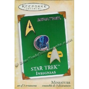 2004 Star Trek Insignias, Star Trek