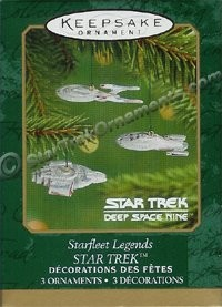 2001 Starfleet Legends, Star Trek, Miniture