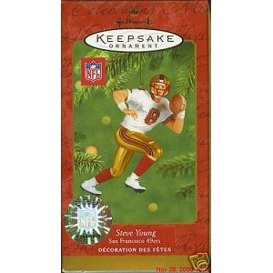 2001 Steve Young, Football Legends