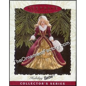 1996 Holiday Barbie #4