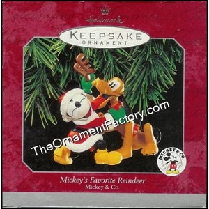 1998 Mickeys Favorite Reindeer, Disney