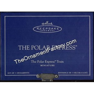 2005 Polar Express Train Set, Miniature