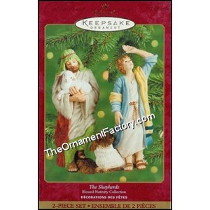 2000 Shepherds, The Blessed Nativity - RARE