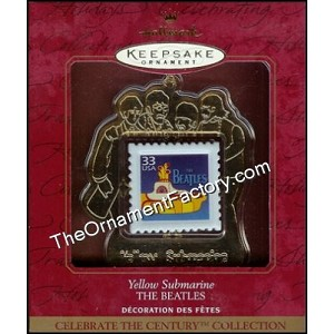 1999 Yellow Submarine, Century Stamp, The Beatles